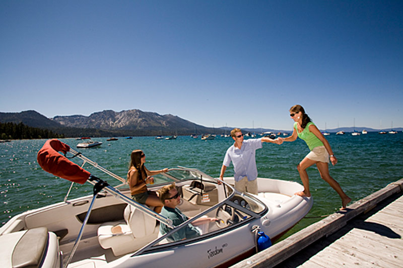 Explore Lake Tahoe like a local. Or a celebrity. Same thing.