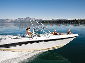 rent boats in lake tahoe at camp richardson marina