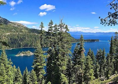 view of emerald bay lake tahoe