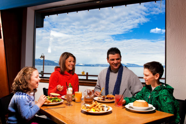 dining at the beacon in tahoe