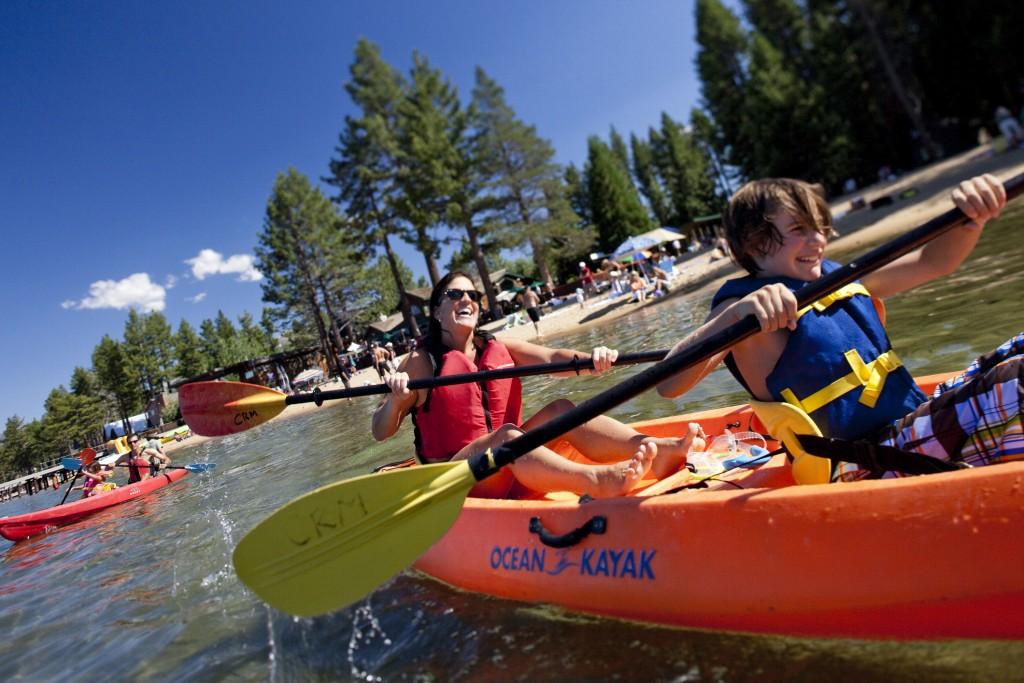kayaking camp richardson