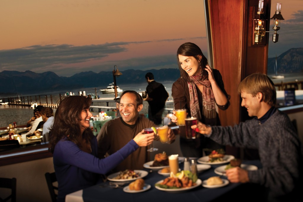 holiday dining in Lake Tahoe at the Beacon