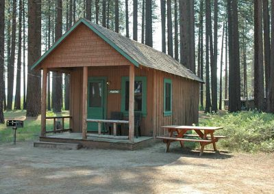 pontiac lake tahoe cabin front view