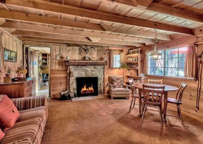 lake tahoe cabin interior
