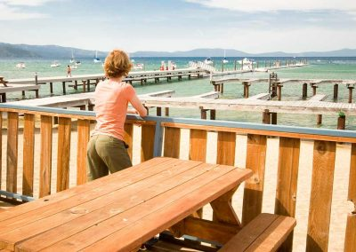camp Richardson lake tahoe marina duplex lakefront rental