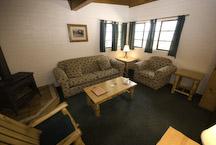 el dorado lake tahoe cabin living room
