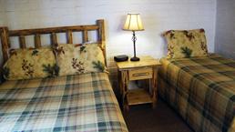 studebaker lake tahoe cabin bedroom