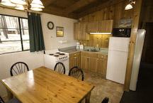thunderbird lake tahoe cabin kitchen