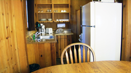 willy knight lake tahoe cabin kitchen