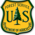 u.s. forest service link and logo
