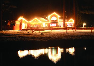 the beacon bar and grill at night