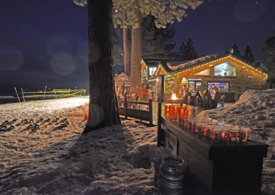 camp richardson beacon bar and grill in the snow