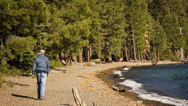 fallen leaf lake road south lake tahoe hiking trails