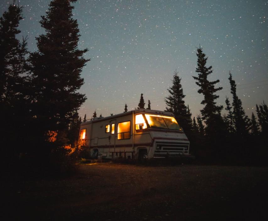 rv camping at camp richardson tahoe